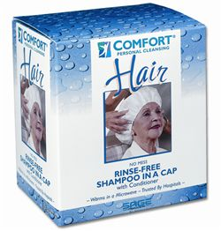 Comfort Bath Shampoo & Conditioner Cap