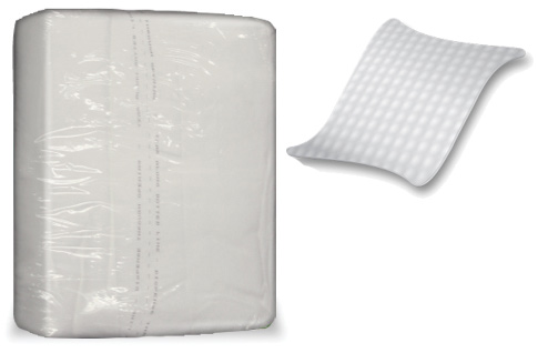 Prevail Disposable Dry Wash Cloths - (48/Pack)