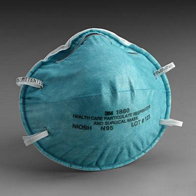 3M™ Particulate Respirator & Surgical Mask - N95 Protection