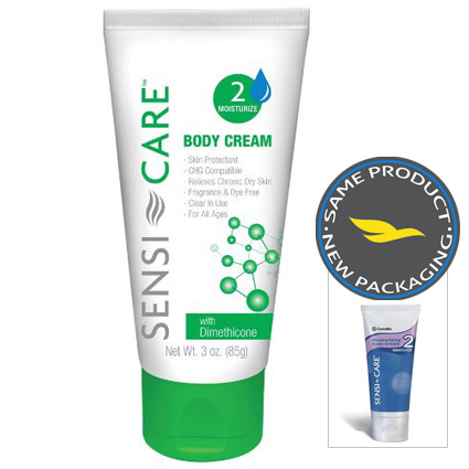 ConvaTec Sensi-Care Moisturizing Body Cream - 3 Oz.