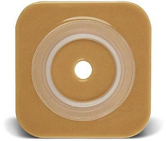 Natura Stomahesive 6 x 6 in. Wafer w/ Flange - (Cut-to-Fit) 4 in.