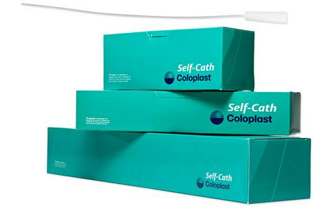Mentor - Coloplast Self-Cath® Soft Catheter, Male - 16 in. Long, Funnel End