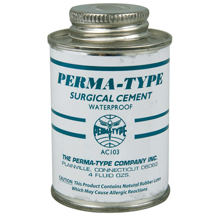Perma-Type Surgical Cement - 4 Oz Can
