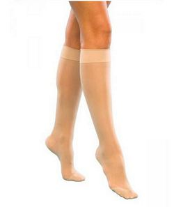 120 Sheer Fashion Series - Womens Calf-High Hosiery - 15 - 20mmHg