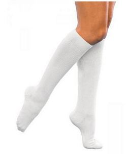 146 Casual Cotton Series - Womens Calf-High Socks - 15 - 20mmHg