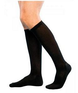 182 Cushioned Cotton Series - Mens Calf-High Socks - 15 - 20mmHg