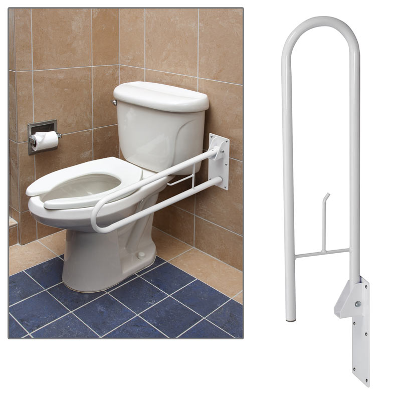 Fold Away Wall Mount Grab Bar Bathroom Grab Bars Home