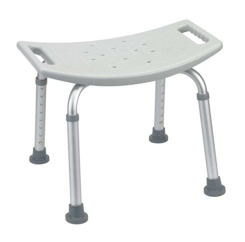 Grey Bathroom Safety Shower Tub Bench Chair Bath Benches